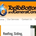 Top to Bottom Roofing reviews and complaints