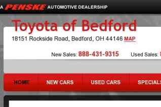 Toyota of Bedford reviews and complaints
