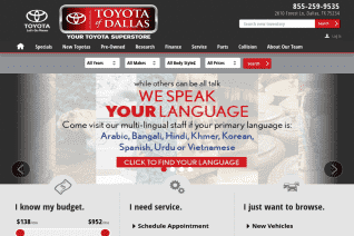 Toyota Of Dallas reviews and complaints