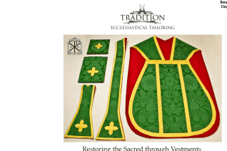 Tradition Ecclesiastical Tailoring reviews and complaints
