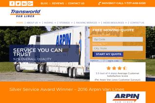 Transworld Van Lines Com reviews and complaints