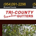 Tri County Seamless Gutters reviews and complaints
