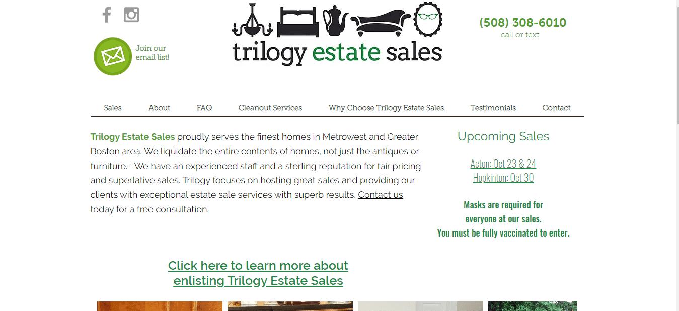 Trilogy Estate Sales reviews and complaints