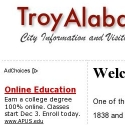 TROY ALABAMA