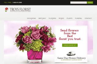 Troys Florist reviews and complaints