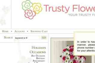 Trusty Flowers reviews and complaints