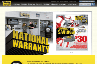 Tuffy Tire And Auto Service Centers reviews and complaints
