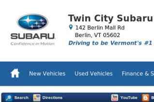 Twin City Subaru reviews and complaints