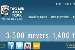 Two Men And A Truck reviews and complaints