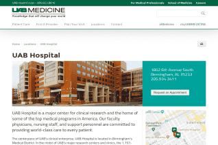 UAB Hospital reviews and complaints