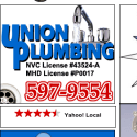 Union Plumbing reviews and complaints