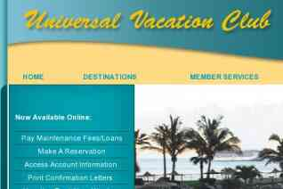 Universal Vacation Club reviews and complaints