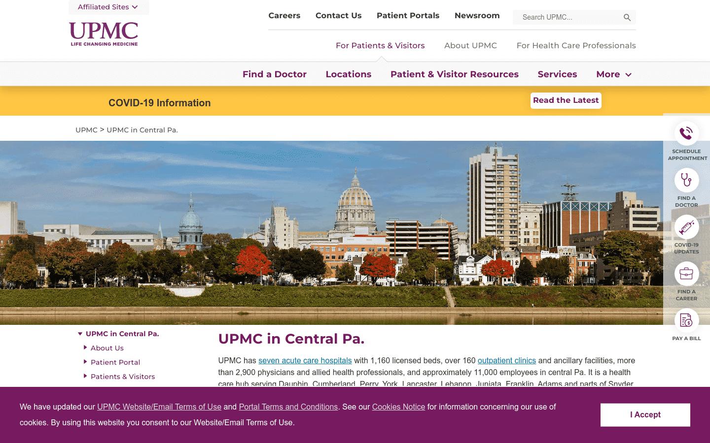 Upmc Pinnacle Memorial reviews and complaints