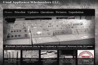 Used Appliance Wholesalers reviews and complaints