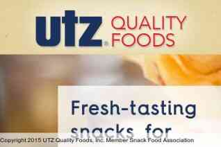Utz Quality Foods reviews and complaints
