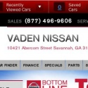 Vaden Nissan reviews and complaints