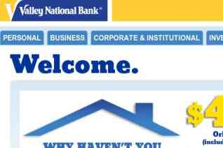 Valley National Bank reviews and complaints