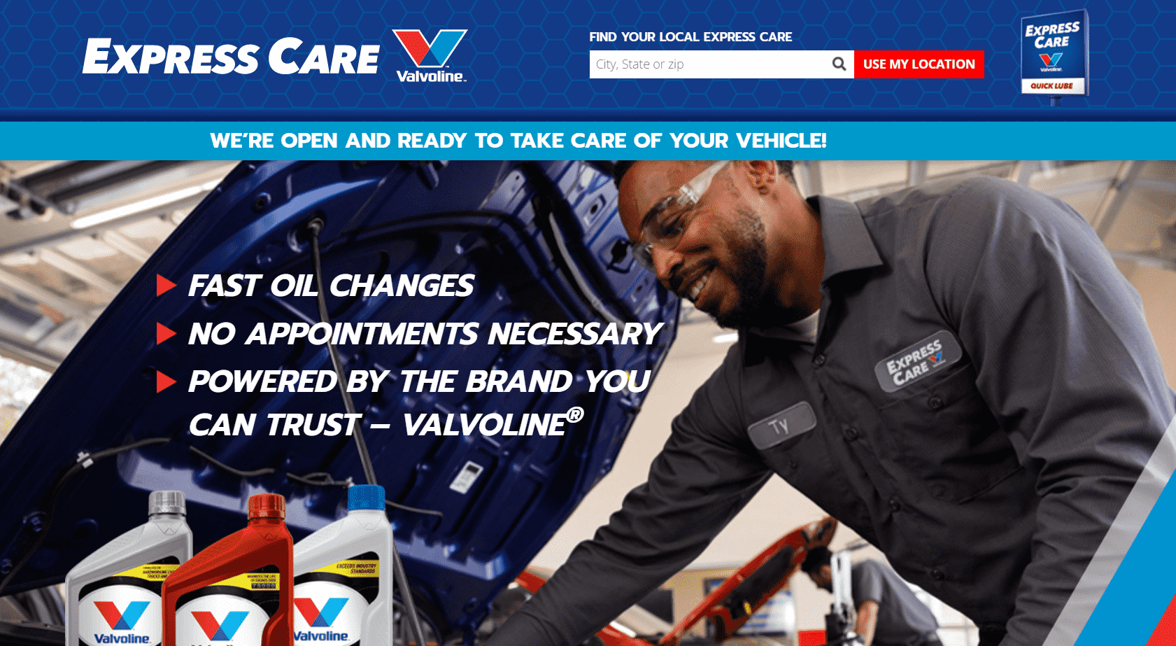 Valvoline Express Care reviews and complaints