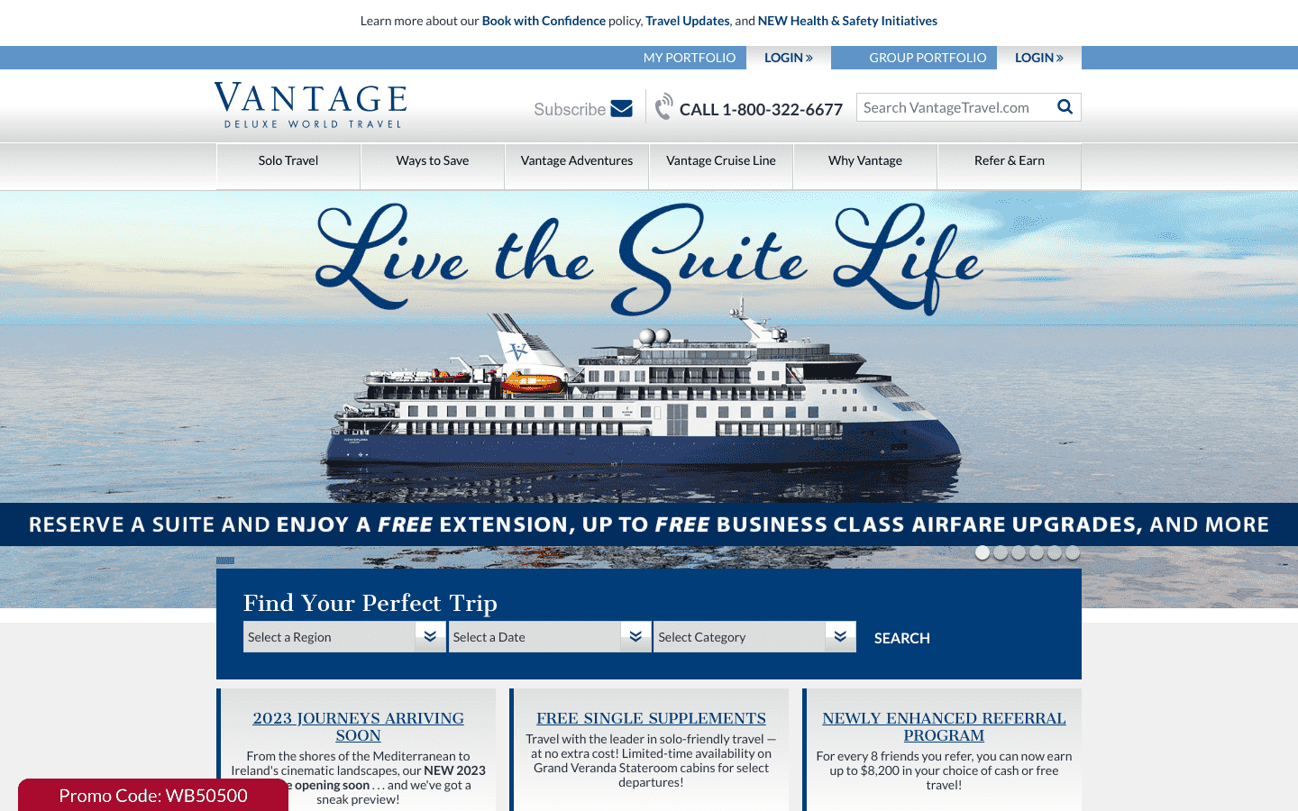 Vantage Deluxe World Travel reviews and complaints