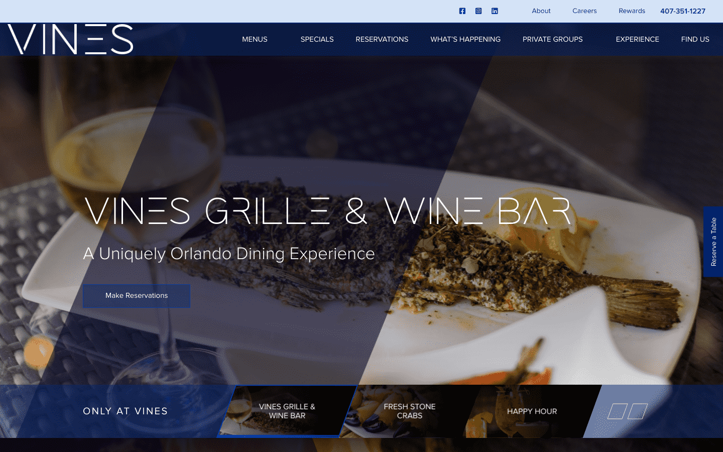 Vines Grille And Wine Bar reviews and complaints