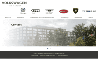 Volkswagen Group Of America reviews and complaints