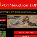 Von Markgraf Hof German Shepherds