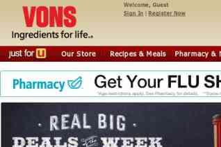 Vons reviews and complaints