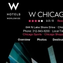 W Chicago Lakeshore Hotel reviews and complaints