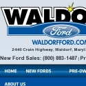 Waldorf Ford reviews and complaints