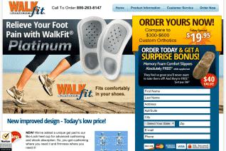 WalkFit Platinum reviews and complaints