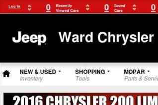 Ward Chrysler Center reviews and complaints
