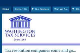 Washington Tax Services reviews and complaints