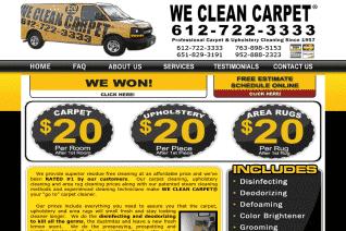 We Clean Carpet of Minneapolis reviews and complaints