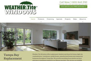 Weather Tite Windows reviews and complaints