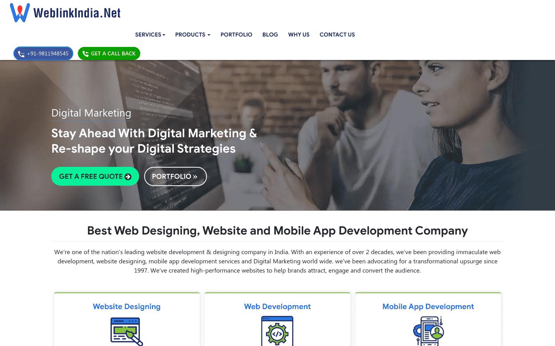 Weblinkindia Net reviews and complaints