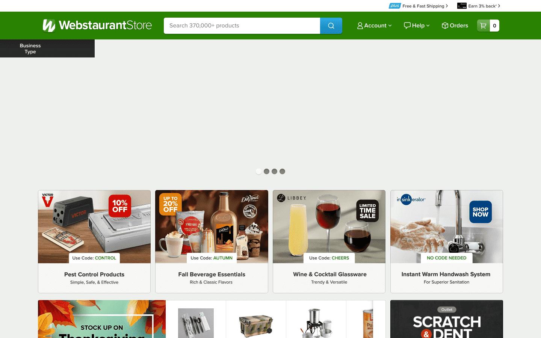WebstaurantStore reviews and complaints