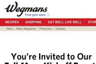 Wegmans reviews and complaints