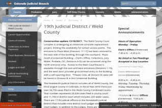 Weld County Court reviews and complaints