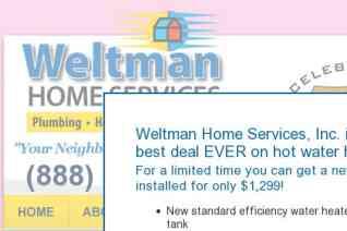 Weltman Home Services reviews and complaints