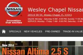 Wesley Chapel Nissan reviews and complaints