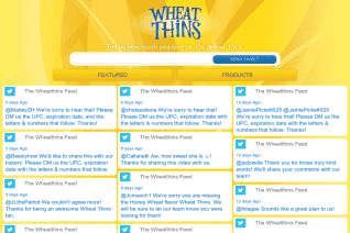 Wheat Thins reviews and complaints