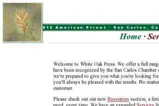 White Oak Press reviews and complaints