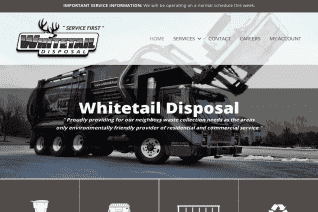 Whitetail Disposal reviews and complaints