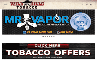 Wild Bills Tobacco reviews and complaints