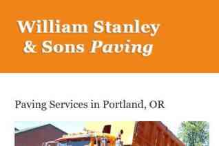 William Stanley And Sons Paving reviews and complaints