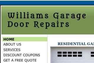 Williams Garage Door Repairs reviews and complaints