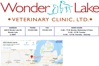 Wonder Lake Veterinary Clinic reviews and complaints