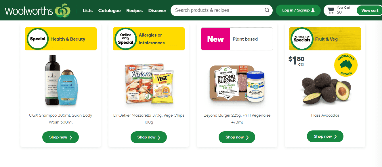Woolworths reviews and complaints