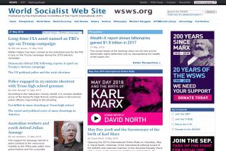 World Socialist Web Site reviews and complaints