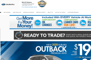 World Subaru Of Tinton Falls reviews and complaints